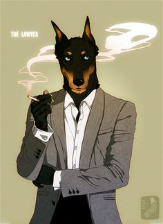 The Lawyer by Zarnala on deviantART