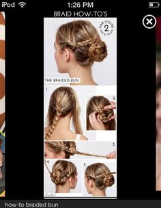 How To Do A Braided Bun