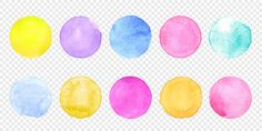 vector smear watercolor splash stain on transparent , Watercolor Splatter, Watercolor Circles, Green Watercolor, Watercolor Texture, Texture Painting, Watercolor Background, Gold Acrylic Paint, Glossy Paint, Free Vector Graphics
