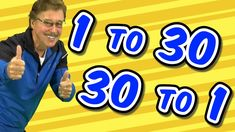 1 to 30 and 30 to 1 | Jack Hartmann Count to 30 | Counting Song - YouTube Counting Songs, Math Songs, Jack Hartmann, Parent Board, Morning Activities, Job Help, Action Verbs, Preschool Math, Kindergarten