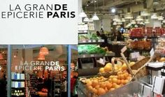 La Grande Epicerie - the nicest grocery store in the world; and it is on the first floor of Bon Marche Rive Gauche.