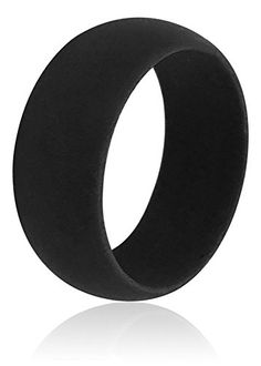 Best Mens Silicone Wedding Ring With FREE Resizing Service  Never Lose Scratch Or Damage Your Real Wedding Band Again #WeddingRing