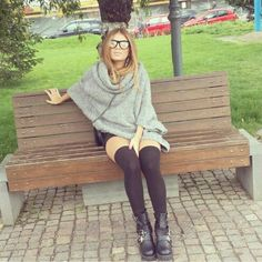 Grey is the new black #styleinspiration courtesy of Daniela Andreea #livefromcatwalk15