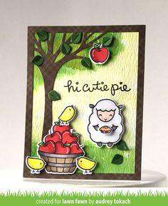 Lawn Fawn Intro: Thanks a Bushel, Cutie Pie                                                                                                                                                                                 More