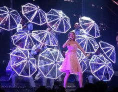 Everything you want to know about Taylor Swift's LED costume from her 1989 world tour.