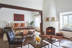 Moroccan Accents Add Flair To A Spanish Colonial Revival - Luxe Interiors + Design Decor, Luxe Interiors, Interior, Colonial Bedroom, Home Decor, Colonial Decor, Mediterranean Home Decor, Mediterranean Decor, Interior Design