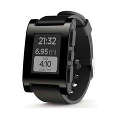 #Smartwatch Pebble Original Negro.   http://www.opirata.com/es/smartwatch-pebble-original-negro-p-36494.html