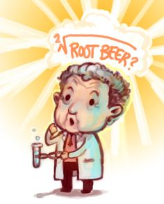 Heehee. Walter Bishop, best fictional scientist ever.