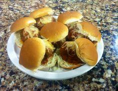 Meatball Sliders Friday, January 23, 2015