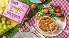 Halal Snacks, Vegan Quiche, Vegan Dark Chocolate, Quiche Lorraine, Rice Milk, Confectionery, Plant Based, The Cure, Product Launch