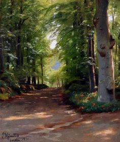 This is my favorite painting by Peder Monsted