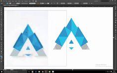 New Logo convert image to vector Convert Image To Vector, Illustrator, Logo, Cards, Logos, Maps, Playing Cards, Illustrators, Environmental Print