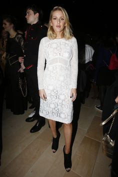 Ellie Goulding. Burberry Fall 2016 Ready-to-Wear Fashion Show Front Row