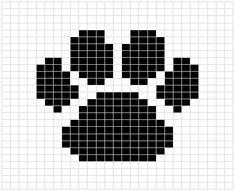 paw print crochet afghan pattern free - Google-søk