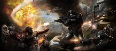 WWZ - The Battle of Yonkers - by `DanLuVisiArt