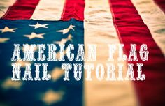 Patriotic Nails July 4th is on its way! One of the easiest ways to show your patriotic side is to sport it on your nails! Here is a tutorial on how to get the most adorable, America inspired nails!  Paint all of your nails, except for your pointer fingers, your favorite fiery shade of red. Paint your pointer...  Read More at http://www.chelseacrockett.com/wp/beautyschool/patriotic-nails/.  Tags: #4thOfJulyFashion, #AmericanFlag, #Flag, #IndependenceDay, #Nails, #Patrioti