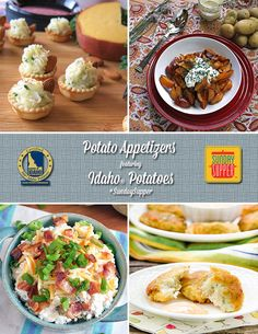 Potato Appetizers featuring Idaho Potatoes #SundaySupper