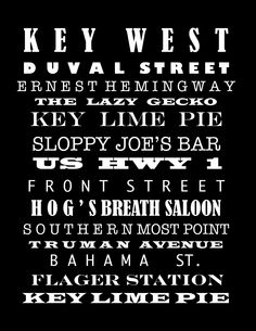 Key West poster By Vickie Scarlett-Fisher -For sale on… Florida Vacation, Florida Travel, Florida Home, Key West Florida, Florida Keys, Key West Duval Street, Key West Decor, Key West Vacations, Fl Keys