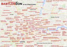 Judgmental map of London