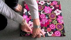 how to sew a bag - YouTube
