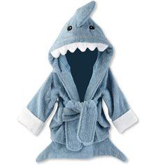 Shark robe.