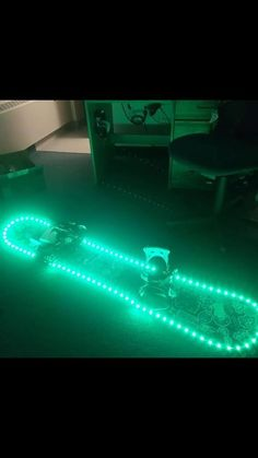LED snowboard for night riding Check out the full project http://ift.tt/2jh9O7J Don't Forget to Like Comment and Share! - http://ift.tt/1HQJd81