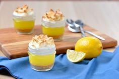 Tarte au citron meringuée dans un bocal à conserve   E.D.Smith