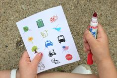 Children's Scavenger Hunt {A Free Printable} Brought to you by Chevrolet Traverse #Traverse