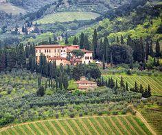 Villa di Vignamaggio - Greve in Chianti. Photo by Simona Costantin
