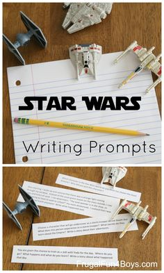Printable Star Wars Writing Prompts for 3rd-6th Grade - Frugal Fun For Boys and Girls