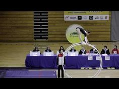 World Championships in Gymwheel 2016 Lilia Lessel vault 1st Place