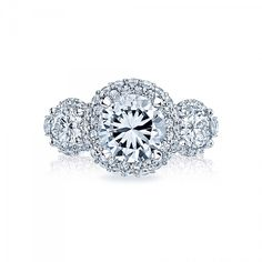 Style# HT2525RD8 - Blooming Beauties - Engagement Rings - Tacori.com
