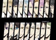 Kuzu No Honkai Manga, Illusion, Touken Ranbu Characters, Anime Eyes, Twitter, Game, Gaming, Toy, Games