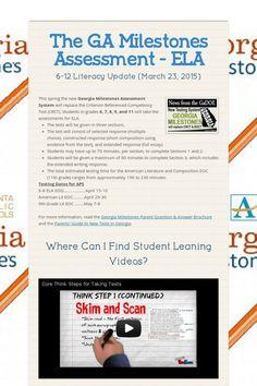 Georgia Milestones Online Practice Test   classroom // 5th ...