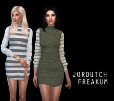 Jordutch Freakum dress at Leo Sims • Sims 4 Updates
