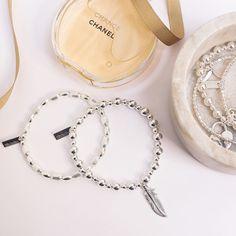 Chance Chanel, Bracelet Making, Free Gifts, Diamond Cuts, Feather, Sterling Silver, Mini, Bracelets, Jewellery