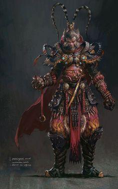 MMORPG Concept Art by Yang Qi