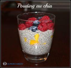 Recette de pouding aux graines de chia approuvée 21 Day Fix. Dessert santé que les enfants adorent.