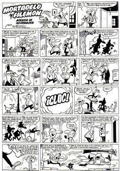 Mortadelo y Filemón por Ibañez