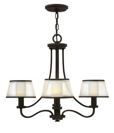 Buy the Hinkley Lighting Olde Bronze Direct. Shop for the Hinkley Lighting Olde Bronze Prescott 4 Light 1 Tier Chandelier and save. Farmhouse Chandelier, Chandelier Shades, Chandelier Lighting, Kitchen Chandelier, Kitchen Lighting Fixtures, Dining Room Lighting, Light Fixtures, Lighting Showroom, Shop Lighting