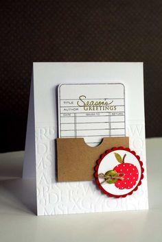 lime doodle: Teacher card
