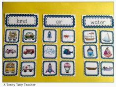 Let's Go!  Teaching Transportation
