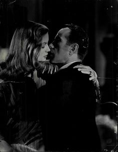 Lauren Bacall & Humphrey Bogart, To Have and Have Not (1944).