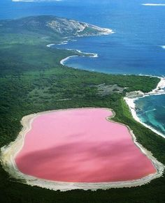 Amazing Pink Lake In Australia – A Surrial Place To Visit