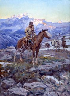 Price of Cm Russell Painting | Charles Marion Russell PAINTINGS and Biography