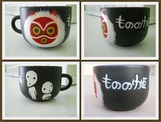 Princess Mononoke Mug by Kyamint