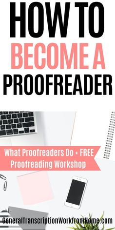 Learn how to become a proofreader, get proofreading jobs for beginners, what proofreaders do, get proofreading jobs online, and make money from home proofreading #proofreadingjobsfromhome #proofreadingforbeginners #remoteproofreading #proofreadingtraining #workfromhome Legit Work From Home, Legitimate Work From Home, Work From Home Moms, Make Money From Home, How To Make Money, How To Become, Money Making Websites, Make Money Blogging, Make Money Online