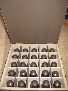 Páginas de cor da Luna: Nespresso capsule holder - interior