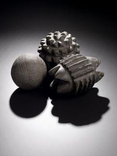 Carved objects found at Skara Brae. http://www.nms.ac.uk