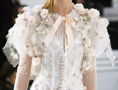 Details: Chanel, Haute Couture Spring/Summer 2006.